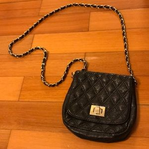 Aldo Quilted Chain Crossbody